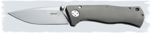 Boker Epicenter Review: Titanium Scales, VG-10 Blade