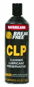 Break-Free CLP-4 for Pocket Knife Lubrication