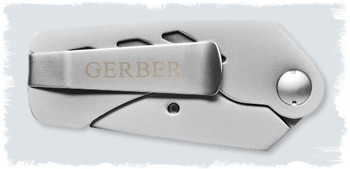 Gerber E.A.B. Utility knife in closed position