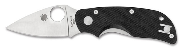 Spyderco Cat folding knife with 440C blade